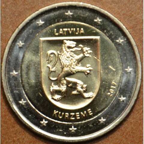 2 Euro Latvia 2017 - Kurzeme (UNC)