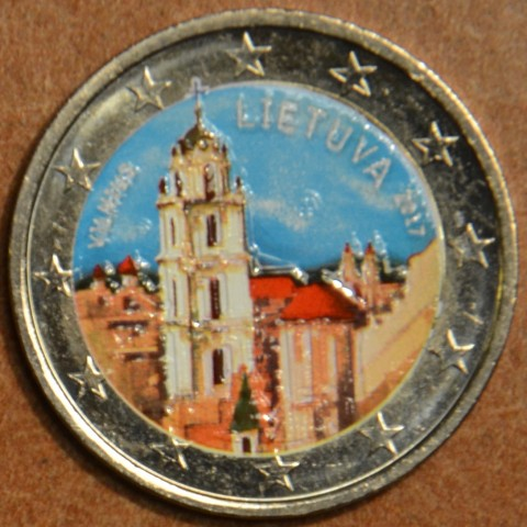 2 Euro Lithuania 2017 - Vilnius II. (colored UNC)