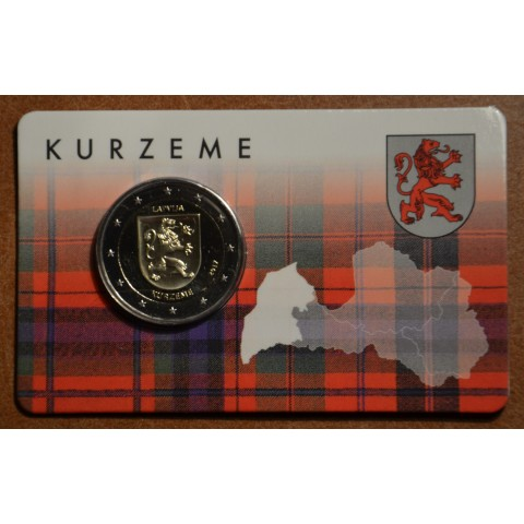 2 Euro Latvia 2017 - Kurzeme (BU card)