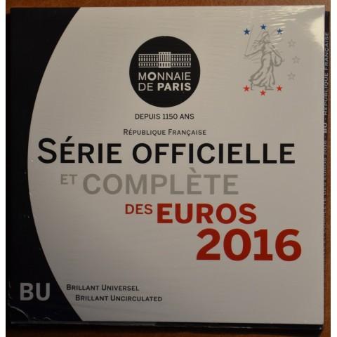 Set of 8 eurocoins France 2016 (BU)