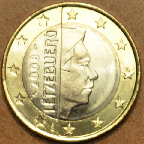 1 Euro Luxembourg 2008 (UNC)