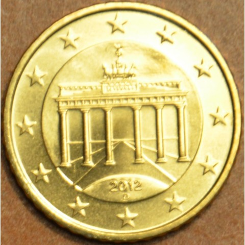 "50 cent Germany ""D"" 2012 (UNC)"