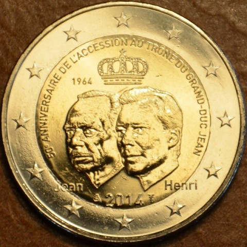 2 Euro Luxembourg 2014 - Grand Duke Jean Accession to the Throne  (UNC)
