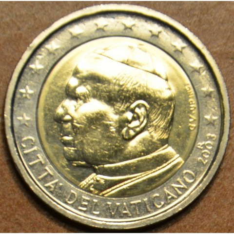 2 Euro Vatican His Holiness Pope John Paul II 2003 (UNC)