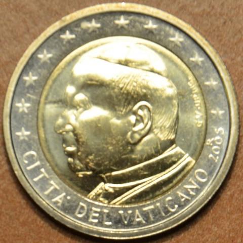 2 Euro Vatican His Holiness Pope John Paul II 2005 (BU)