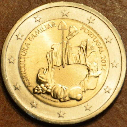 2 Euro Portugal 2014 - Carnation Revolution (UNC)