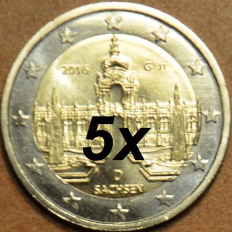 Presale 2 Euro Germany 2016 - Saxony: Dresden  (UNC)