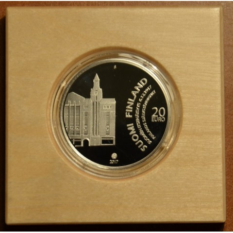 20 Euro Finland 2017 - Independence (Proof)