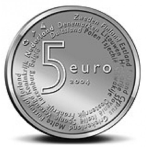 5 Euro Netherlands 2004 - EU enlargement (UNC)
