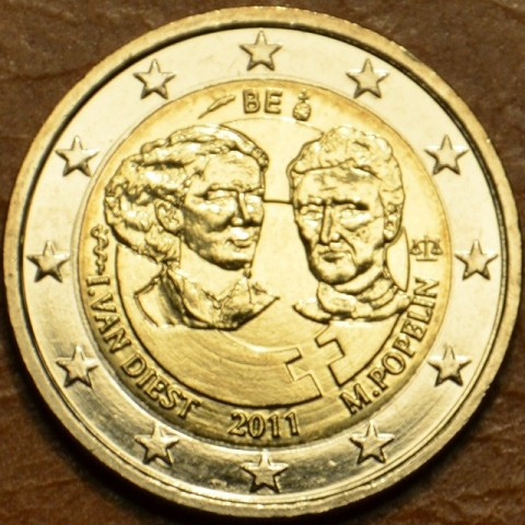 2 Euro Belgium 2011 - 100th anniversary of International Women's Day (UNC)