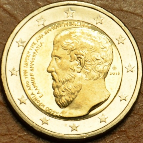 2 Euro Greece 2013 - The 2400th Anniversary of the founding of Plato's Academy (UNC)