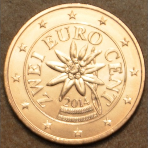 2 cent Austria 2014 (UNC)