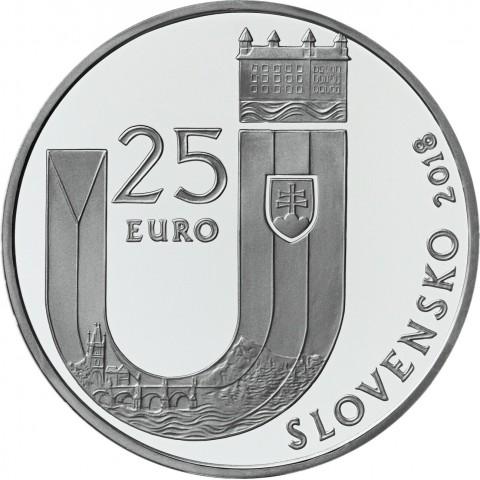 25 Euro Slovakia 2018 - 25 year of Slovak Republic (BU)