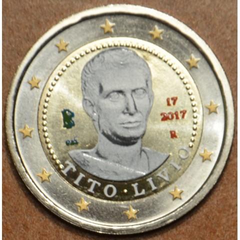 2 Euro Italy 2017 - Tito Livio (colored UNC)