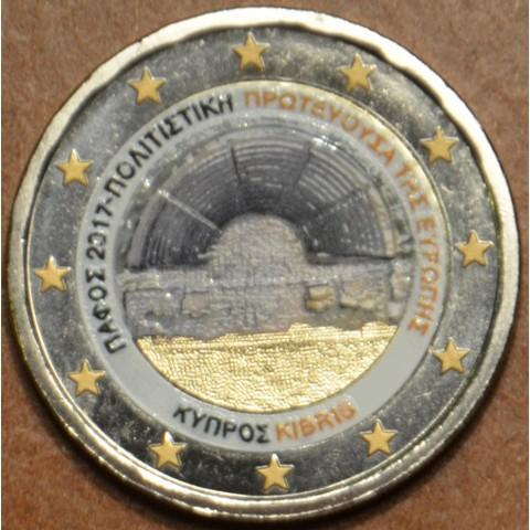 2 Euro Cyprus 2017 - Paphos (colored UNC)