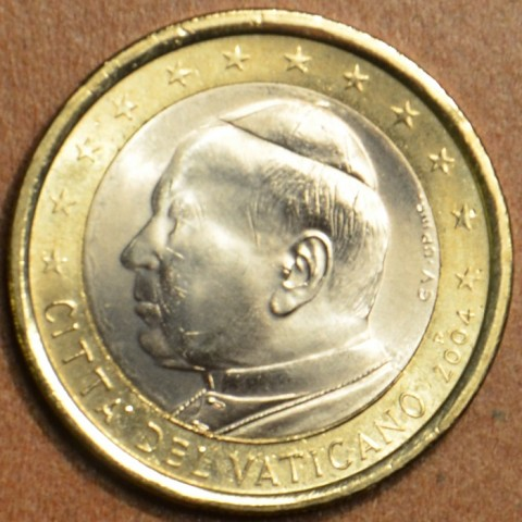 1 Euro Vatican His Holiness Pope John Paul II 2004 (BU)