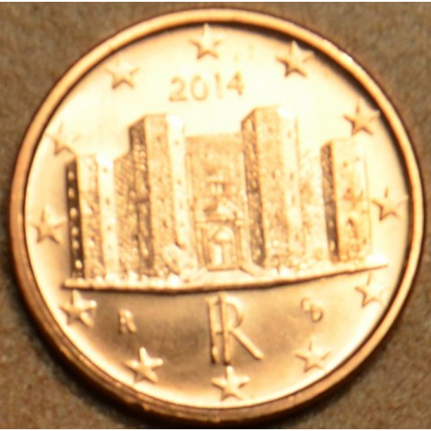 1 cent Italy 2014 (UNC)
