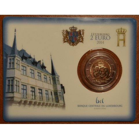 2 Euro Luxembourg 2014 - Grand Duke Jean Accession to the Throne  (BU)