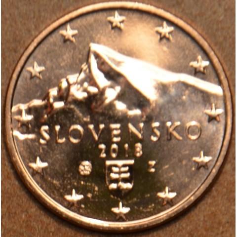 1 cent Slovakia 2018 (UNC)