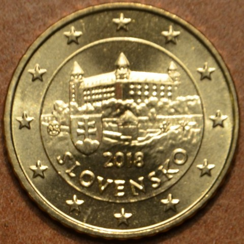 50 cent Slovakia 2018 (UNC)