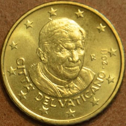 50 cent Vatican 2011 (UNC)