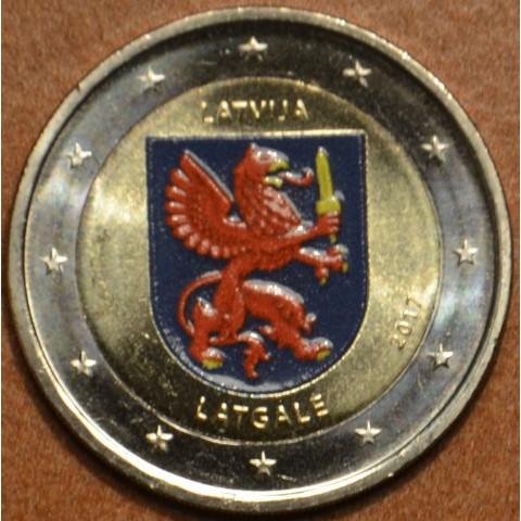 2 Euro Latvia 2017 - Latgale II. (colored UNC)