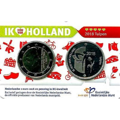 2 Euro Netherlands 2018 - Holland coin fair (BU)