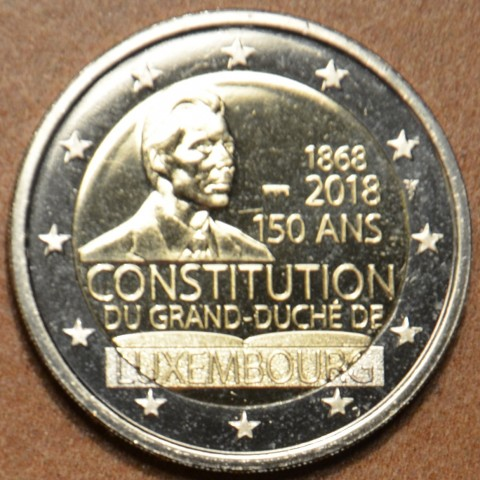 2 Euro Luxembourg 2018 - The 150th anniversary of the Luxembourg Constitution - new mintmark (BU)