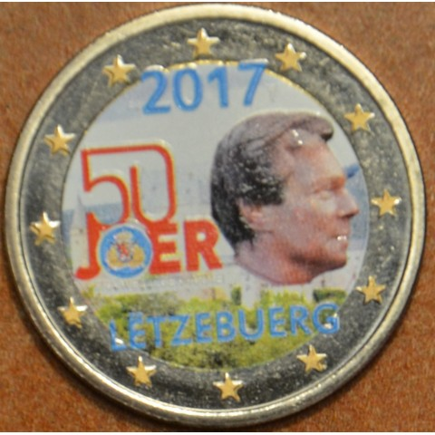 2 Euro Luxembourg 2017 - Military service III. (colored UNC)