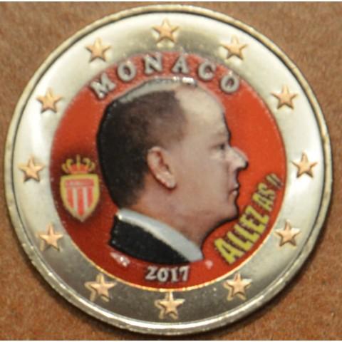 2 Euro Monaco 2017 (colored UNC)