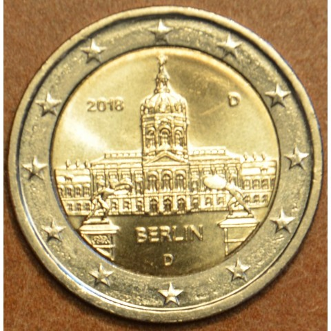 "2 Euro Germany ""D"" 2018 - Berlin:  Scharlottenburg (UNC)"