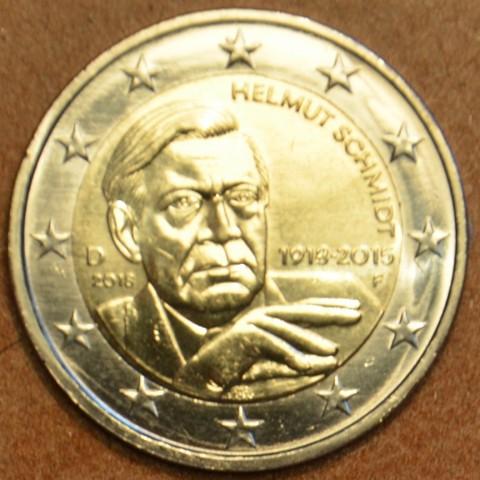 "2 Euro Germany ""F"" 2018 - Helmut Schmidt (UNC)"