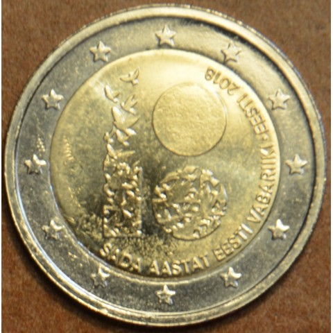 2 Euro Estonia 2018 - 100 years of independence (UNC)