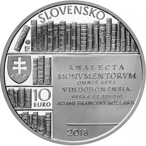 10 Euro Slovakia 2018 - 300th anniversary of the birth of Adam František Kollár (BU)