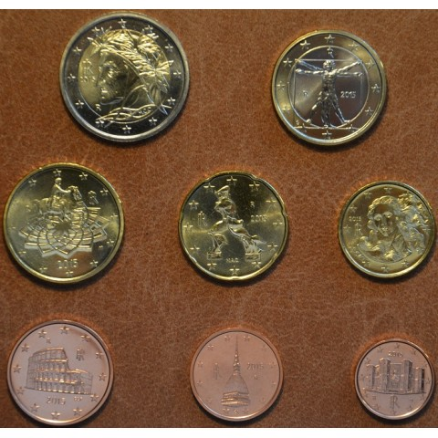 Set of 8 coins Italy 2015 (UNC)