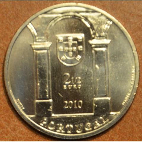 2,5 Euro Portugal 2010 - Terreiro do Paço (UNC)