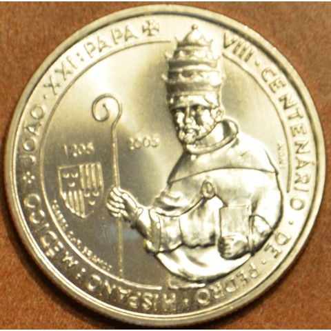 5 Euro Portugal 2005 - 800. birthday of Pope John XXI. (UNC)
