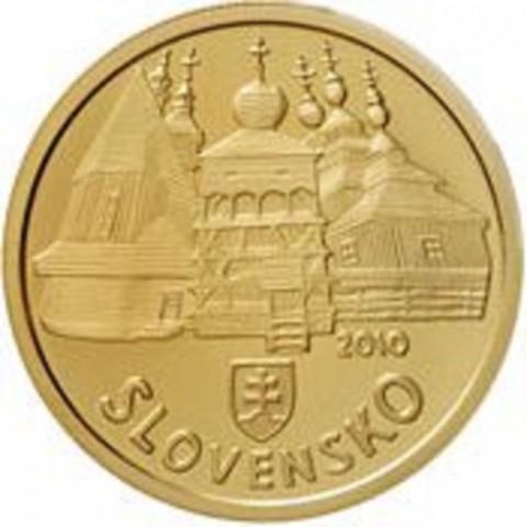 100 Euro Slovakia 2010 - Wooden Churches (Proof)