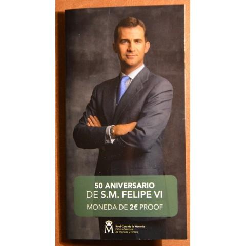 2 Euro Spain 2018 - Felipe VI. (Proof)