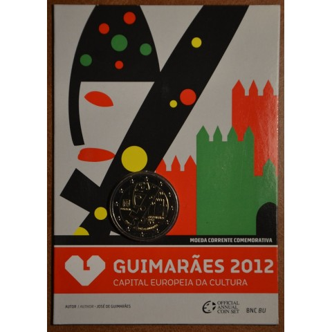 2 Euro Portugal 2012 - Guimarães - Capital Europeia da Cultura em 2012 (BU)