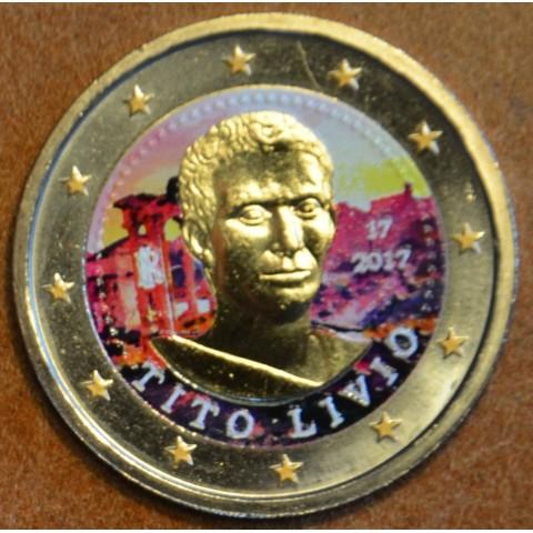 2 Euro Italy 2017 - Tito Livio III. (colored UNC)