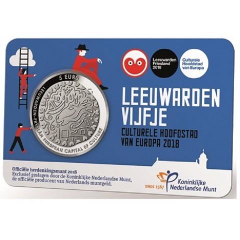 5 Euro Netherlands 2018 - Leeuwarden (UNC)