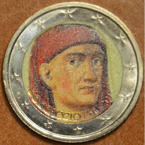 2 Euro Italy 2013 - 700th Anniversary of the Birth of Giovanni Boccaccio III. (colored UNC)