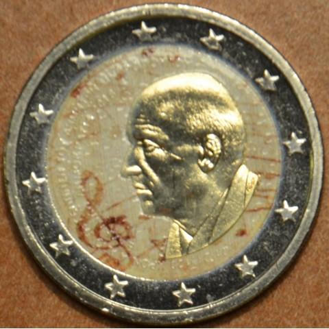 2 Euro Greece 2016 - Dimitri Mitropoulos IV. (colored UNC)