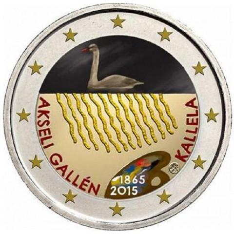 2 Euro Finland 2015 - Akseli Gallen Kallela II. (colored UNC)