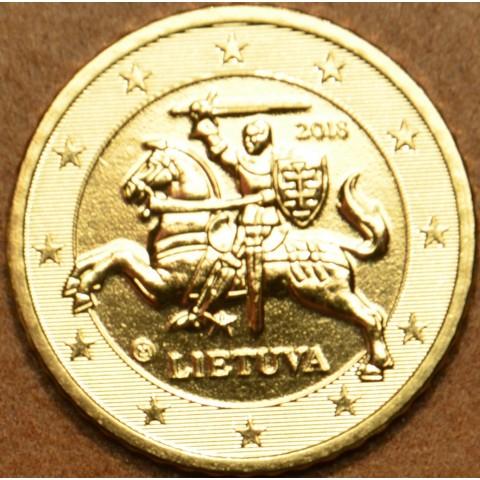 50 cent Lithuania 2018 (UNC)