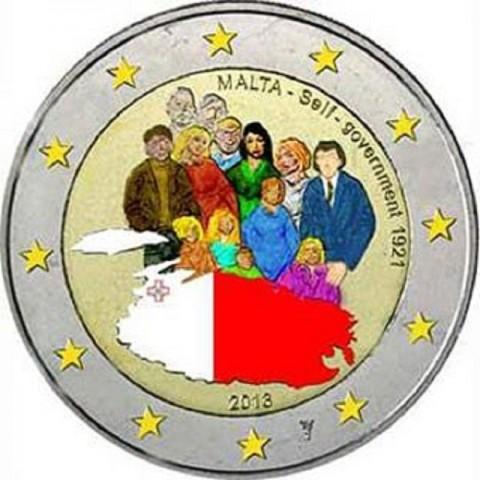 2 Euro Malta 2013 - 1921 Self Government (UNC)
