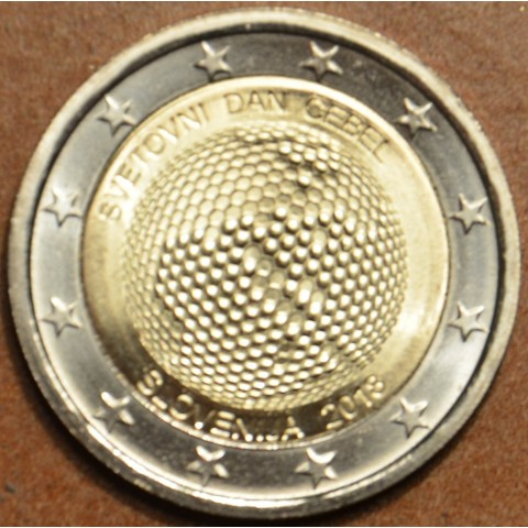 2 Euro Slovenia 2018 - World Day of Bees (UNC)
