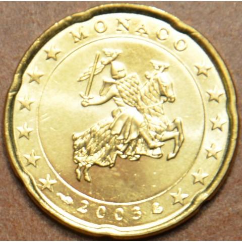 20 cent Monaco 2003 (UNC)