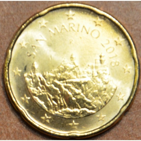 20 cent San Marino 2018 (UNC)